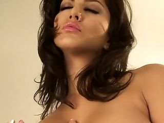 Big Tits, Indian, Lingerie, Masturbation, Solo, Sunny Leone,
