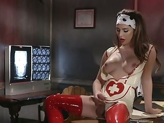 Ass, HD, Ladyboy, Latex, Sexy, Shemale, Tranny, Uniform,