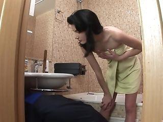 Bathroom, Couple, Cute, Friend, On Top, Riding, Rough, Russian, Smoking, Teen,