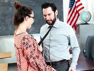 American, Boobless, Chubby, Daughter, Glasses, Hardcore, Reality, Teacher,