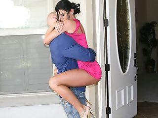 Big Tits, Blowjob, Brunette, Condom, Dick, Savannah Stern,