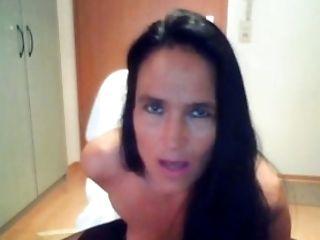 Brunette, Cute, Lingerie, Solo, Stockings, Webcam,