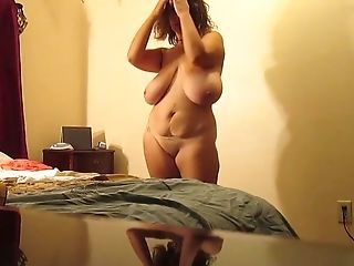 Cougar, Curvy, Horny, Mature, Slut, Solo, Striptease,