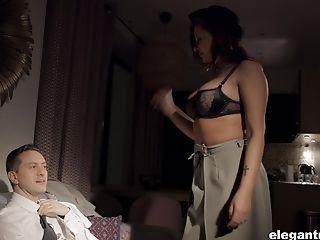Anna Polina, Babe, Big Tits, Blowjob, Bold, Car, Cum On Tits, Cumshot, Cute, French,