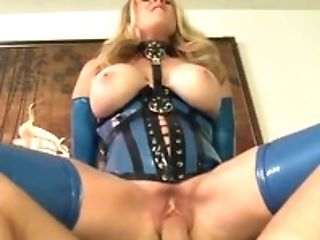 Blonde, Corset, Couch, Cowgirl, Cumshot, Dick, Felching, Fetish, Gloves, Handjob,