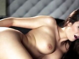 Ass, Babe, Brunette, Clit, Connie Carter, Fingering, HD, Moaning, Shaved Pussy, Solo,