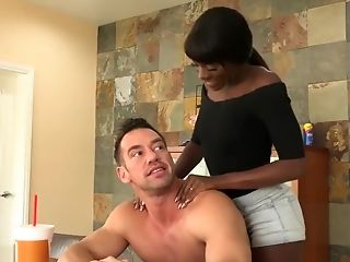 Ana Foxxx, Black, Dick, White,