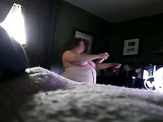 BBW, Cute, Dressed, Fat, Hidden Cam, Masturbation,