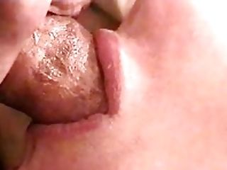Amateur, Close Up, Cum, Cumshot, Tongue,