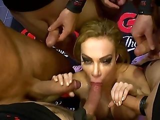 Big Cock, Big Tits, Blowjob, Bukkake, Cowgirl, Cum In Mouth, Cumshot, Deepthroat, Facial, Fake Tits,
