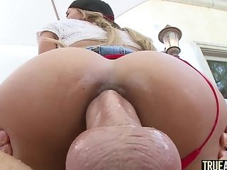 Anal Sex, Ass Fucking, Blowjob, Chloe, Clamp, Clothed Sex, Couple, Cowgirl, Creampie, Cumshot,