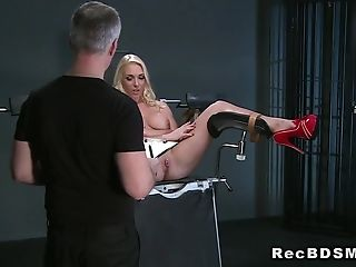 BDSM, Big Tits, Blonde, Bold, Fetish, Gyno, Hardcore, HD, Submissive,