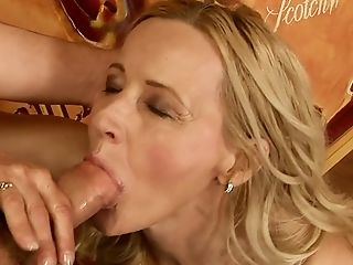 Blonde, Blowjob, Granny, Mature, Old And Young, Rough,