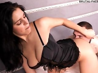 Femdom, Fetish, Licking, Pussy, Russian, Slave, Solo,