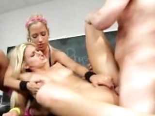 Blonde, Blowjob, Bukkake, College, Cowgirl, Cumshot, Cute, Dick, Doggystyle, Facial,