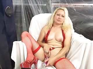 Amateur, Babe, Blonde, Cigarette, Jerking, Lingerie, Masturbation, Sex Toys, Smoking, Solo,