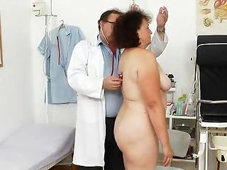 Clinic, Close Up, Doctor, Enema, Examination, Granny, Gyno, Hairy, Old, Pussy,