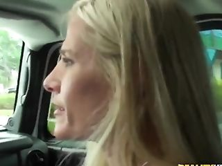 Big Cock, Blonde, Blowjob, Car, HD, Mature, MILF,