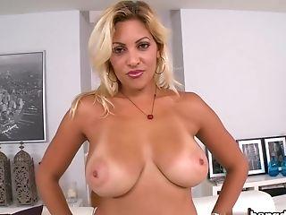 Big Ass, Big Tits, Blonde, Bold, Dick, HD, Kitana Flores, Latina, MILF, Young,