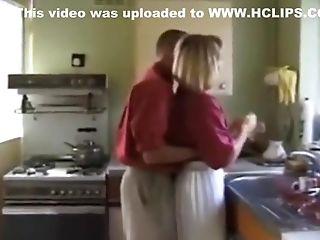 Blonde, Circumcised, Cumshot, Hardcore, Kitchen, Neighbor,