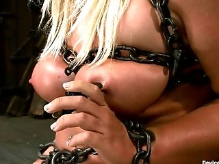 Bdsm, Acorrentado , Kait Snow, Slut,
