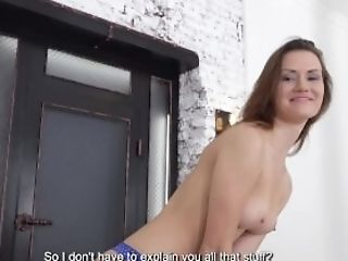 Blowjob, Bold, Brunette, Close Up, Cumshot, Cute, Doggystyle, European, Fingering, Natural Tits,