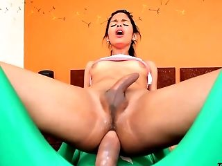 Ass, Big Cock, Ethnic, Guy Fucks Shemale, HD, Latina, Tranny,