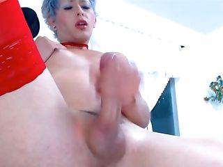 Amateur, Femboy, HD, Masturbation, Webcam,