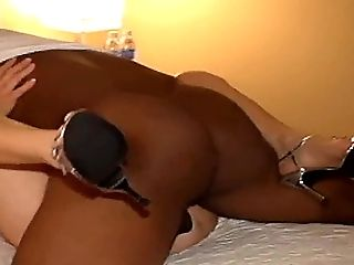 Big Black Cock, Big Cock, HD, High Heels, Homemade, Interracial, Whore,