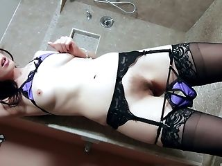 Anal Sex, Cute, Doggystyle, Handjob, Hardcore, Licking, Lingerie, Long Hair, Missionary, Natural Tits,