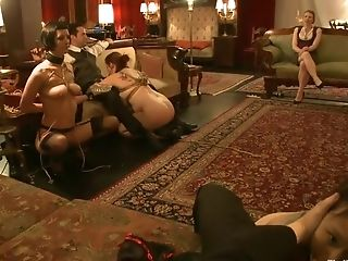 BDSM, Bella Rossi, Blowjob, Cherry Torn, Cigarette, Fetish, Group Sex,