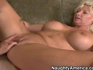 Anal Sex, Big Cock, Big Tits, Blonde, Cunnilingus, HD, Joanna Storm, Mature, Raylene,
