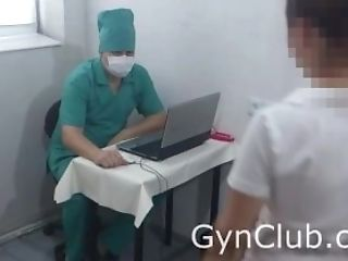 BDSM, Bondage, Clinic, Doctor, Examination, Fetish, Gyno, Hospital, Russian,