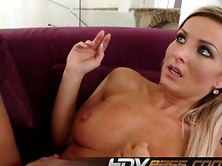 Babe, Big Cock, Blonde, HD, Huge Cock, Vanessa Jordin,