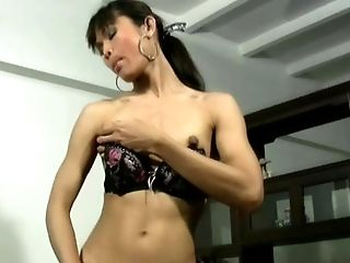 Asian, Blowjob, Boobless, Brunette, Dick, Ethnic, Felching, Fondling, Food, Hairy,