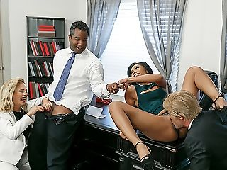 Porn beautiful black businesswoman