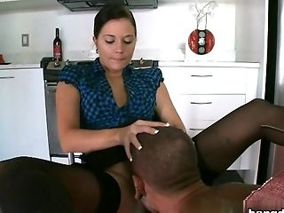 Boobless, Boy, Brunette, Facial, Hardcore, HD, Sex Toys, Slave,